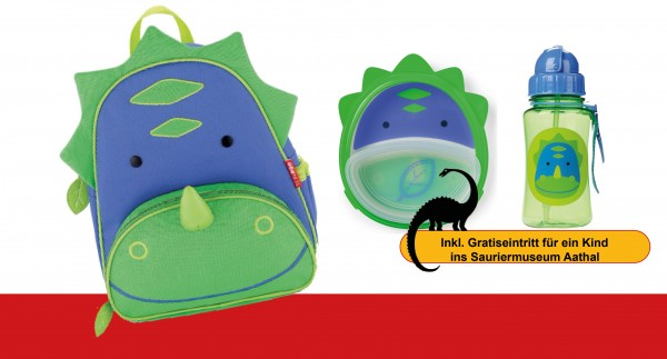 SKIPHOP Zoo Backpack Dinosaur