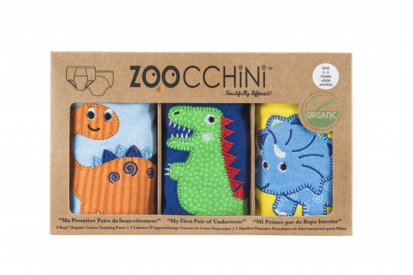 ZOOCCHINI Trainings-Short Set Knabe (3-4J) Dinosaurier