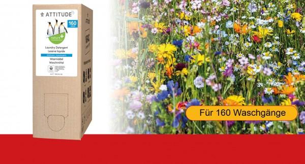 ATTITUDE Flüssigwaschmittel Refill Wildblumen, 4 Liter