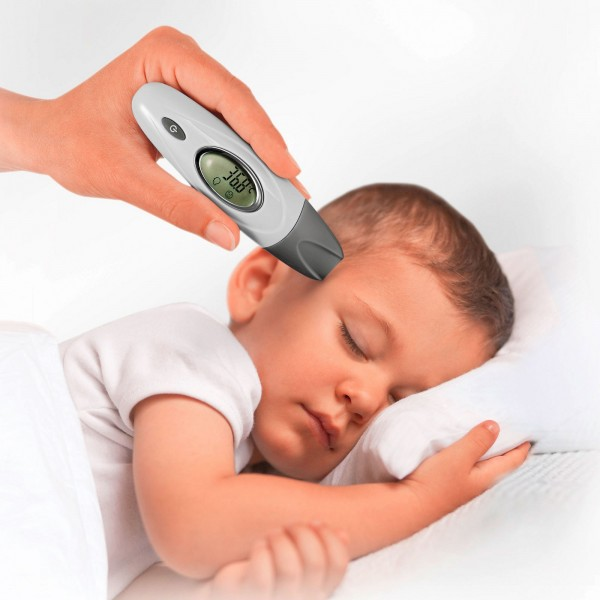 REER Infrarot-Thermometer SkinTemp 3in1