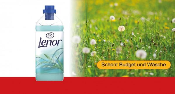 LENOR Weichspüler Fresh Meadow, 1L